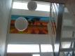TRappenhuis nu, licht en ruimte door gebruik van kleur